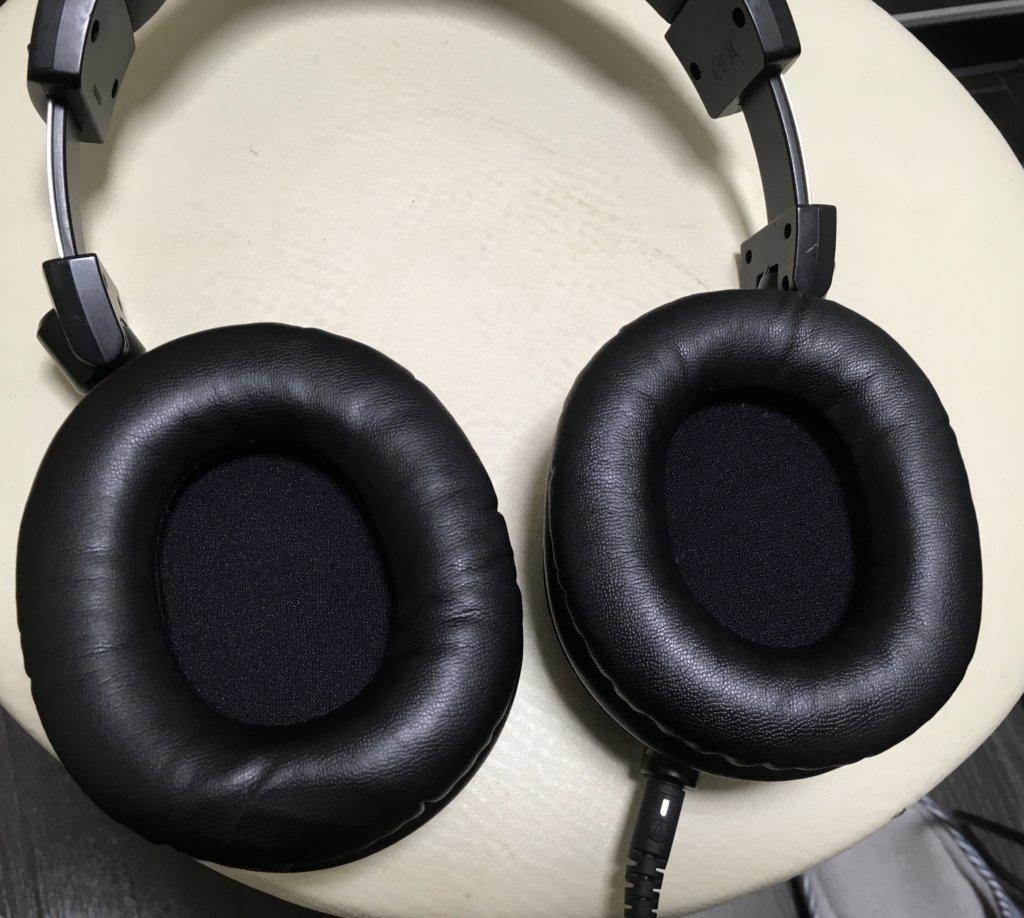 ヘッドホンのイヤーパッド交換|オーディオテクニカ(Audio Technica)