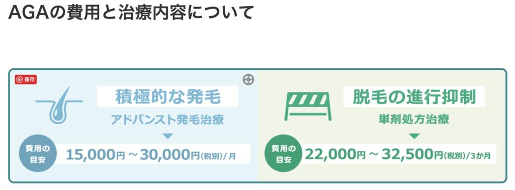 Dクリニック東京メンズは費用が明確